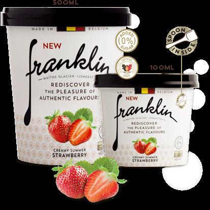 Creamy summer Strawberry